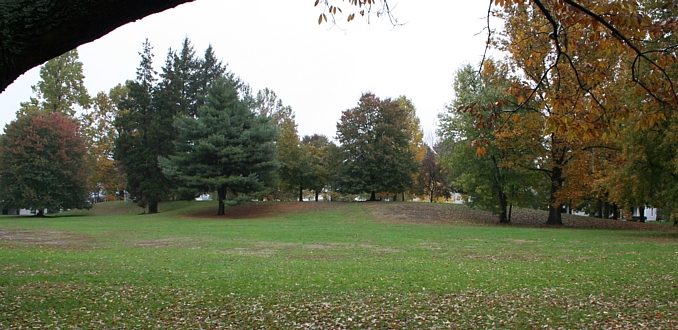 Quadranau Mound, Marietta, Ohio.