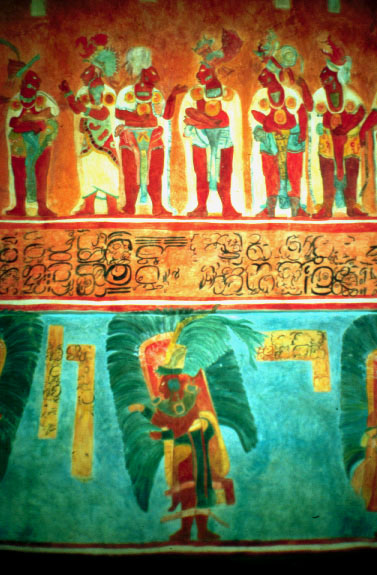 Mesoamerican artifacts i a photo gallery by james q jacobs for Bonampak mural painting
