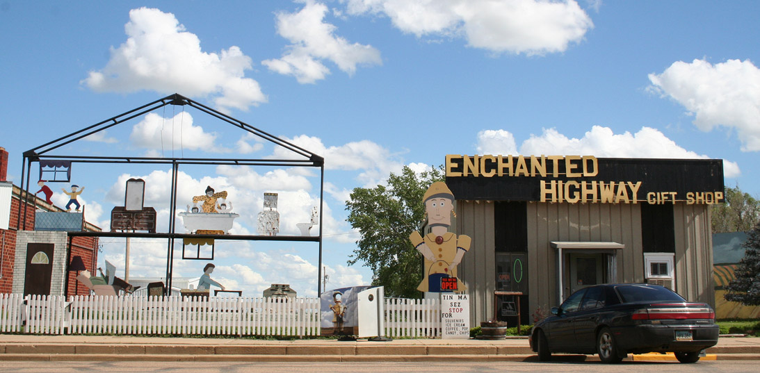 The Enchanted Highway Regent Nd