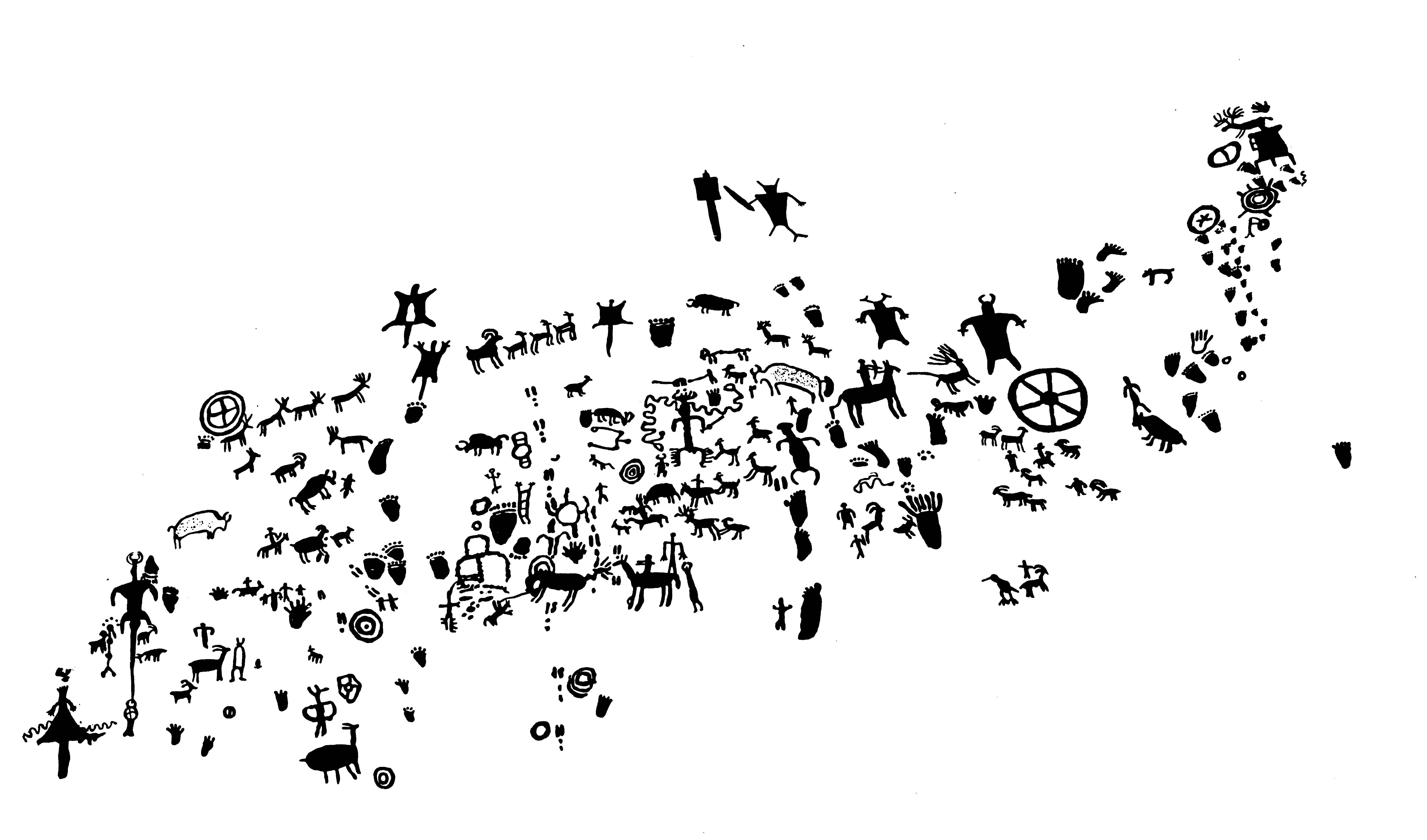 Petroglyphs Utah Newspaper Rock Newspaper Rock Petroglyph