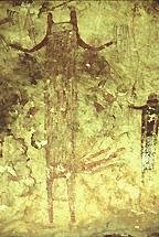 Panther Cave Pictograph, 215 x 144 pixels, 40 K.