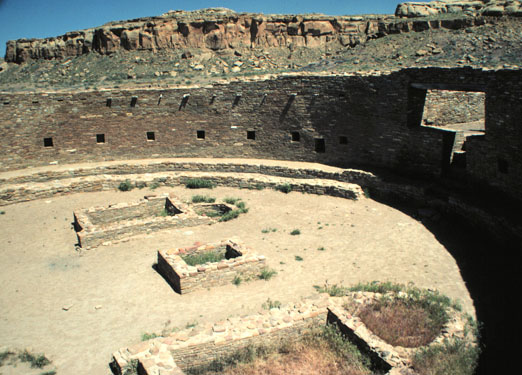 Great Kiva Chaco Canyon Great Kiva Chaco Canyon